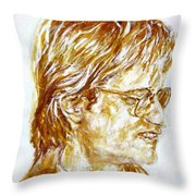 William Page, Portrait Throw Pillow