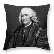 William Pitcairn (1711-1791) Throw Pillow
