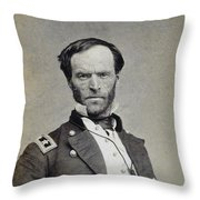 William Tecumseh Sherman Throw Pillow