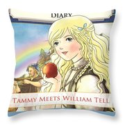 William Tell Cover Art Throw Pillow