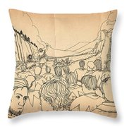 William Tell Offers Freedom Throw Pillow