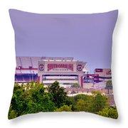 Williams - Bryce Stadium Throw Pillow