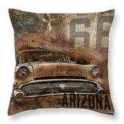 Williams Buick 2 Throw Pillow
