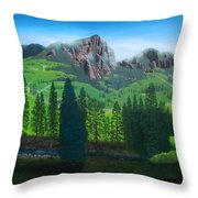 Williams Creek Throw Pillow