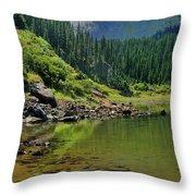 Williams Lake Throw Pillow