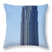Williams Tower Throw Pillow