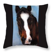 Willie Duke Throw Pillow