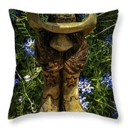 Willie Throw Pillow