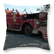 Willig Collection 6 Fire Truck Throw Pillow