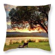 Willow Bay Throw Pillow