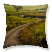 Willow Throw Pillow by Davorin Mance