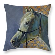 Willow In Winter Throw Pillow