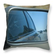 Willow Pass Rd Throw Pillow