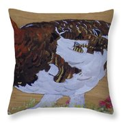 Willow Ptarnagin Throw Pillow