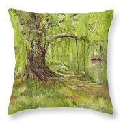 Willow Swing Throw Pillow