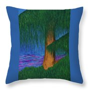Willow Tree Throw Pillow