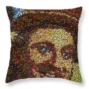 Willy Wonka Fizzy Lifting Bottle Cap Mosaic Throw Pillow