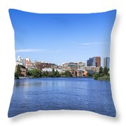 Wilmington Skyline Throw Pillow