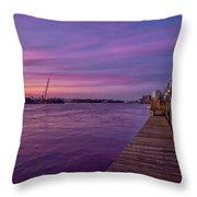 Wilmington Waterfront Throw Pillow