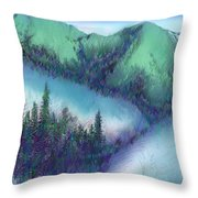 Wilmore Wilderness Area Throw Pillow