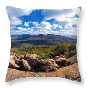 Wilpena Pound And St Mary Peak Throw Pillow