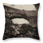 Wilson Arch No 1a Throw Pillow