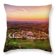 Wilson Lodge Panorama Throw Pillow