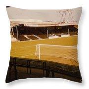 Wimbledon Fc - Plough Lane - Main Stand 1 - 1969 Throw Pillow