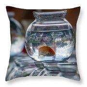 Win A Goldfish Throw Pillow
