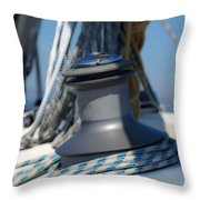 Winched Throw Pillow
