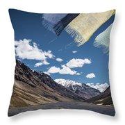 Wind And A Prayer Throw Pillow