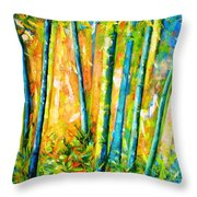 Wind And Fire Throw Pillow