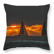 Wind And Water Throw Pillow