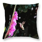 Wind Beneath My Wings Throw Pillow