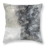 Wind In My Sails- Abstract Art Throw Pillow