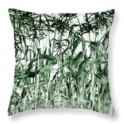 Wind In The Corn Throw Pillow