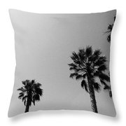 Wind In The Palms- By Linda Woods Throw Pillow