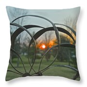 Wind Mobile Throw Pillow