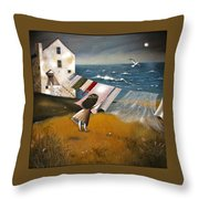 Wind Of Change. Throw Pillow