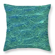 Wind Over Water Throw Pillow