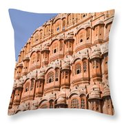 Wind Palace - Jaipur Throw Pillow