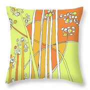 Wind Plants Throw Pillow