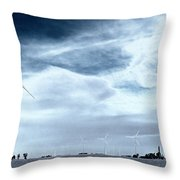 Wind Power Throw Pillow