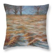Wind Swept Throw Pillow