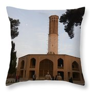 Wind Towers, Iran Throw Pillow