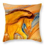 Windance Grass Throw Pillow