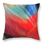 Windblown Dress Throw Pillow