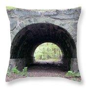 Windham Rail Trail Bridge Throw Pillow