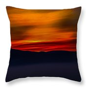Winding Light Throw Pillow