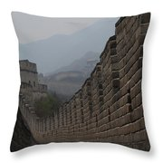 Winding Path Throw Pillow